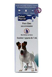 Imagem Pulvex Pour-on 1ml