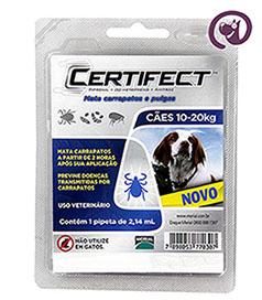 Imagem Certifect M Cães 10 a 20kg