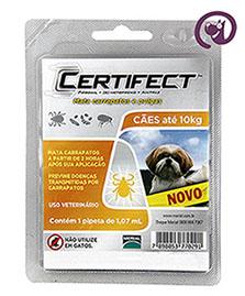 Imagem Certifect S Cães até 10kg