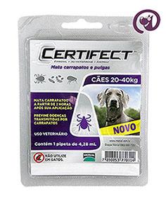 Imagem Certifect L Cães 20 a 40kg