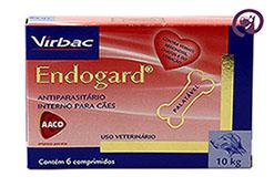 Imagem Endogard 10kg c/ 6 comprimidos