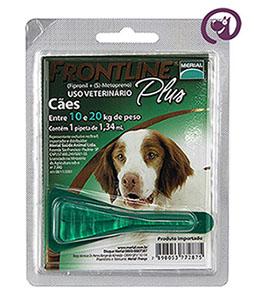 Imagem Frontline Plus Cão 10 a 20kg 1,34ml