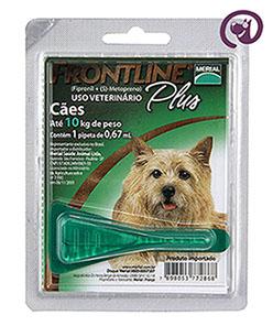 Imagem Frontline Plus Cão até 10kg 0,67ml