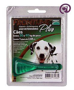 Imagem Frontline Plus Cão 20 a 40kg 2,68ml