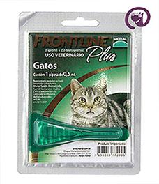Imagem Frontline Plus Gatos