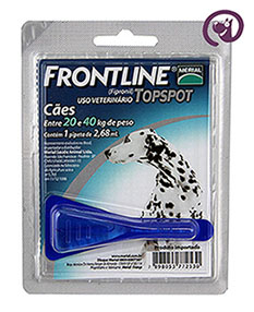 Imagem Frontline Top Spot Cão 20 a 40kg (2,68ml)