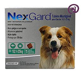 Imagem NexGard G (cães 10,1 a 25kg)