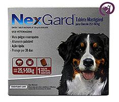Imagem NexGard GG (cães 25,1 a 50kg)