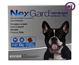 Imagem NexGard M (4,1 a 10kg)