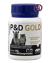 Imagem P e D Gold 30 comprimidos