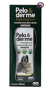 Imagem Pelo e Derme 320ml Shampoo Hipoalergênico