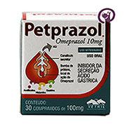 Imagem Pet Prazol 10mg 30 comprimidos