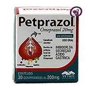 Imagem Pet Prazol 20mg 30 comprimidos