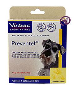 Imagem Coleira Preventef Cães