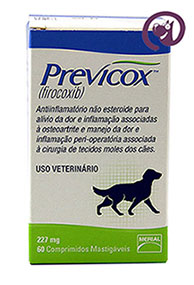 Imagem Previcox 227mg 60 comprimidos