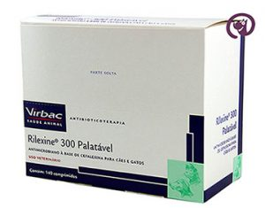 Imagem Rilexine 300mg c/ 140 comprimidos