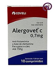 Imagem Alergovet C 0,7mg c/ 10 comprimidos