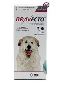 Imagem Bravecto Cães 40 a 56kg (1400mg)