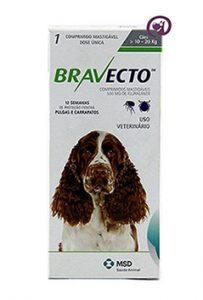 Imagem Bravecto Cães 10 a 20kg (500mg)