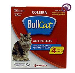 Imagem Coleira Bullcat Antipulgas e Carrapatos p/ Gatos 40cm