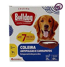 Imagem Coleira Bulldog Anti-Pulgas e Carrapatos p/ Cães 64cm