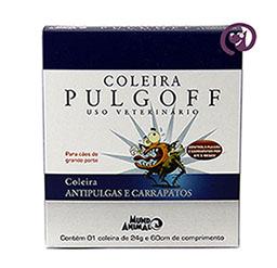 Imagem Coleira Antipulgas e Carrapatos Pulgoff G 60cm