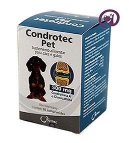 Imagem Condrotec 500mg 60 Comprimidos