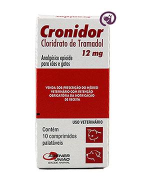 Imagem Cronidor 12mg 10 comprimidos