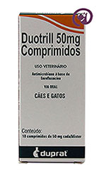 Imagem Duotril 50mg 10 comprimidos