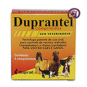 Imagem Duprantel Composto p/ Cães 10 kg c/ 4 comp.