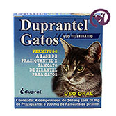 Imagem Duprantel p/ Gatos 4 comp.