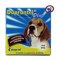 Imagem Duprantel Plus p/ cães 4 comprimidos