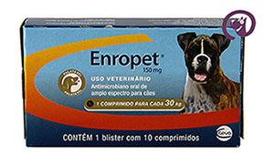 Imagem Enropet 150mg 10 comprimidos