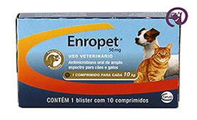 Imagem Enropet 50mg 10 comprimidos