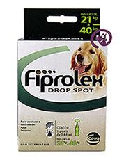 Imagem Fiprolex Drop Spot Cães 21 a 40kg (2,68ml)