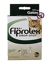 Imagem Fiprolex Drop Spot Gatos (0,5ml)