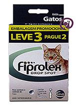 Imagem Combo Fiprolex Gatos (LEVE 3 pague 2)