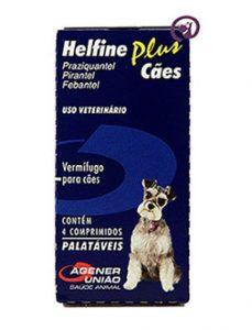 Imagem Helfine Plus Cães 4 comprimidos