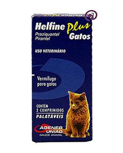 Imagem Helfine Plus Gatos 2 comprimidos