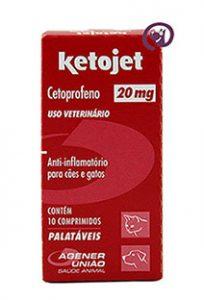 Imagem Ketojet 20mg 10 comprimidos