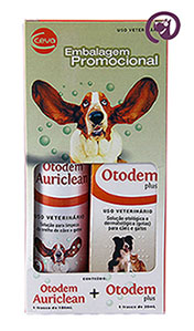 Imagem Kit Otodem Plus + Otodem Auriclean