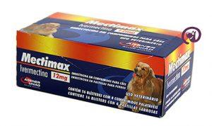 Imagem Mectimax (Ivermectina) 12mg 64 comprimidos