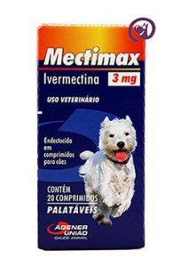 Imagem Mectimax (Ivermectina) 3mg 20 comprimidos