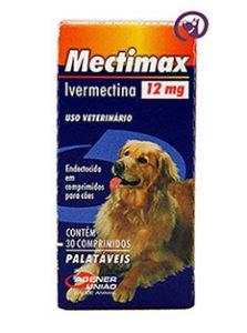 Imagem Mectimax (Ivermectina) 12mg 30 comprimidos