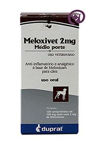 Imagem Meloxivet 2 mg c/ 120 comp.