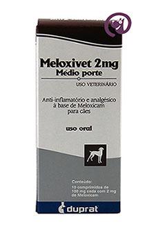 Imagem Meloxivet 2mg c/ 10 comprimidos
