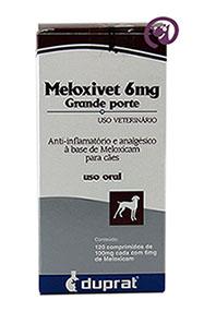 Imagem Meloxivet 6mg c/ 120 comp.