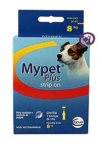 Imagem Mypet Plus Cães até 8kg (1ml)