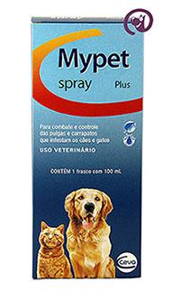 Imagem Mypet Plus Spray Cães e Gatos 100ml