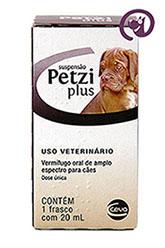 Imagem Petzi Plus Suspensão 20ml (cães)
